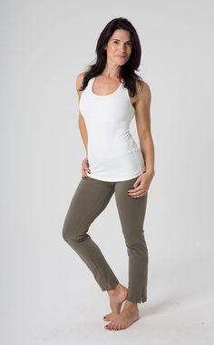 Long Straight Leg Yoga Pants