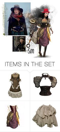 """35-Sim-(from Sherlock Holmes: A Game of Shadows)"" by psiche-olga ❤ liked on Polyvore featuring art, sherlock holmes a game of shadows, noomi rapace and sim"