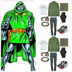 Its THE JMADDD STYLES FASHIONABLE INSPIRATION STORY BOARD...TONIGHTS LOOK CAPTURING THE FASHIONABLE LIKENESS OF VICTOR VON DOOM..