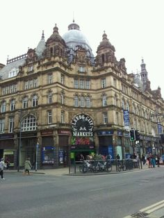 Sick of the same old meal deal?  Head to the vibrant Leeds Kirkgate Market to pick up some local grub!