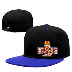Hotboy19 Arkansas State University Sunbonnet Sun Protection Hat Snapback Flat Bill Cap RoyalBlue -- Awesome products selected by Anna Churchill