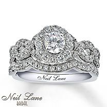 Neil Lane Bridal® 1 1/6 Carat t.w. Diamond Bridal Set