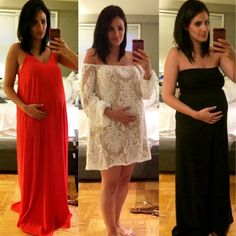 My ideal of how to dress during pregnancy... Styling at all time#9months...