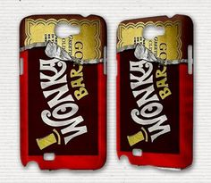 Samsung Galaxy S3 Phone Case Willy Wonka Bar Samsung Galaxy S2 Note Siii Sii S 3 2 Skyrocket Nexus 4G Ace SL Case Wonka Bar Cool Phone Cases. $17.50, via Etsy.