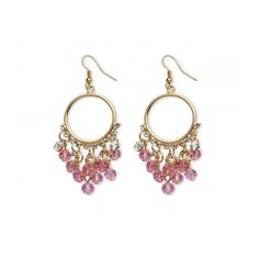 chicmarket.com - Birthstone Chandelier Earrings with Crystal Accents... ($28) ❤ liked on Polyvore featuring jewelry, earrings, gold jewelry, tourmaline earrings, gold chandelier earrings, artificial jewellery and imitation jewellery