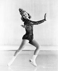 Sonja Henie (1912-1969) Photograph