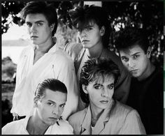 Duran Duran..   Ha.. so funny. The good old days