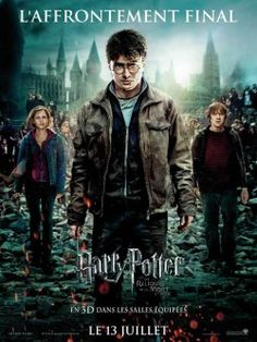 Directed by David Yates. With Daniel Radcliffe, Emma Watson, Rupert Grint, Michael Gambon. Harry, Ron and Hermione search for Voldemort& remaining Horcruxes in their effort to destroy the Dark Lord as the final battle rages on at Hogwarts. Harry Potter Poster, Harry Potter 7, Harry Harry, Harry James, James Potter, Deathly Hallows Part 2, Harry Potter Deathly Hallows, Harry Potter Jk Rowling, Lord Voldemort