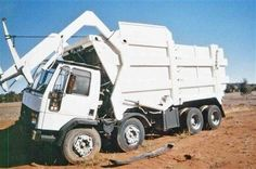 FORD CARGO, Australia. Was the bin too heavy . . .