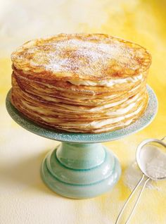 Recette de Ricardo de gâteau mille-crêpes