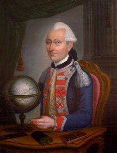 Jean-Baptiste de Caraffa, Colonel d'Infanterie, Chevalier de l'Ordre royal et militaire de Saint-Louis.