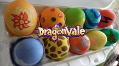 Looking for a fun project? Try creating your own DragonVale dragon eggs!