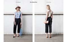 The Black Pant / Collections / Womens