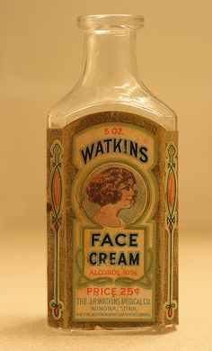 antique Watkins bottle