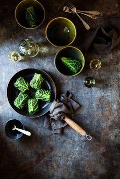 savory stuffed savoy cabbage.