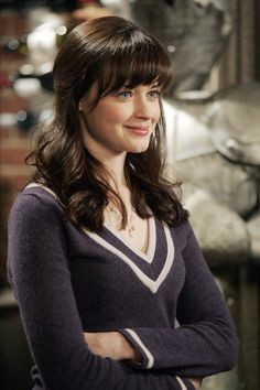"I Pinterest searched ""Rory Gilmore"" to find pictures of her being a collegiate badass; I thought that might inspire me to get shit done and study all night. But then I just pinned this to my favorite hairstyles board."