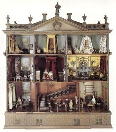 What little girl wouldn't be thrilled to have this doll house! Description from pinterest.com. I searched for this on bing.com/images