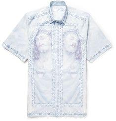 Givenchy Columbian-Fit Printed Cotton Shirt Givenchy Man, Printed Cotton,  Shirt Sleeves, 476b02aca0f