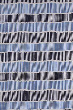 Broken Stripe in Indigo & Periwinkle - Lula Fabrics Textile Patterns, Textiles, Weaving Techniques, Periwinkle, Indigo, Fabrics, Album, Gallery, Graphics