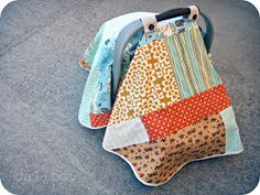 I want to make these when I have a babycalico: infant carseat blanket.