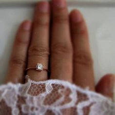 White sapphire solitaire ring set in solid rose gold. The natural sapphire is approximately in diameter. SPECIFICATION Gemstone: Natural White Sapphire, approximately in diameter, carat Metal: Solid Rose Gold Ring size conversion Engagement Solitaire, Cushion Cut Engagement Ring, Wedding Rings Solitaire, Princess Cut Engagement Rings, Rose Gold Engagement Ring, Bridal Rings, Wedding Engagement, Solitaire Diamond, Diamond Rings