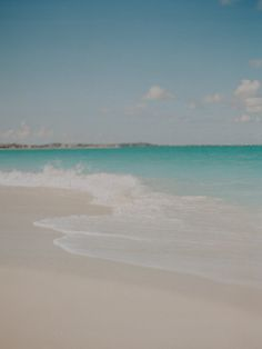 lovely film shot of the beach