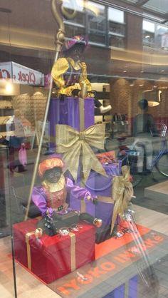 Sinterklaas etalage schippers optiek.