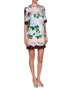 Fast Delivery Sale Online Embroidered Poplin Short-Sleeve Dress Neiman Marcus Discount Reliable Cheap Eastbay Newest Cheap Online jGyq471