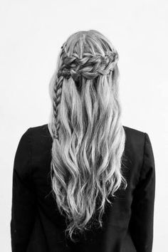 i had a dream that i braided my hair all cool