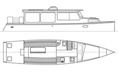 Boat Plans 327285097921636457 - Example of Solar Electric Real World Use – Liveaboard Boat and Cartop Canoe – Storer Boat Plans in Wood and Plywood Source by borasuel Plywood Boat Plans, Wooden Boat Plans, Wooden Boats, Liveaboard Boats, Boat Vector, Boat Drawing, Electric Boat, Vintage Boats, Boat Design