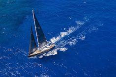 P2 by Perini Navi sailing