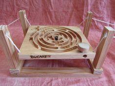 Laberinto de madera