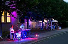 Musik zur Langen Nacht der Wissenschaften 2016 in Leipzig vor der HfTL