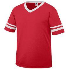 d0fbf838adc Augusta Sportswear Sleeve Stripe Jersey