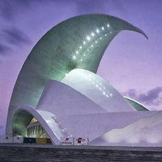 The TenerIfe Auditorium or Opera House, Tenerife, Canary Islands, Spain