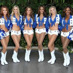 Often Imitated, Never Equaled - the Dallas Cowboys cheerleaders workout method