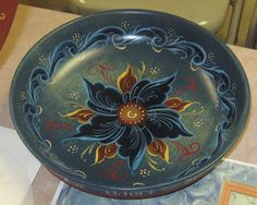 Christine's Circles : Rosemaling: A Norwegian Art Form