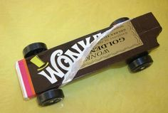 Wonka-mobile.  Pinewood Derby 2012