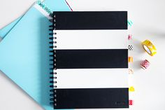 IHeart Organizing: Fun Ways To Organize With Washi Tape