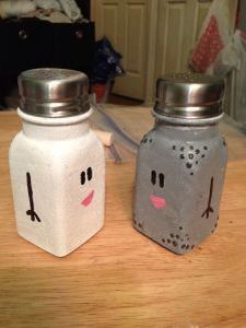Mr Salt & Mrs Pepper from Blues Clues... make your own dyi
