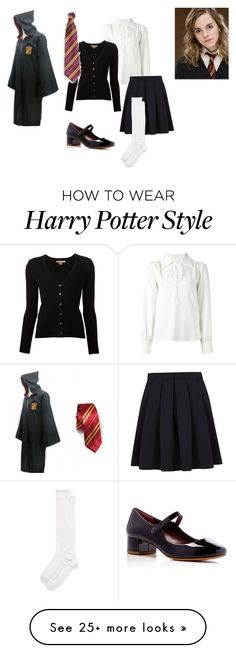 """Hermione Granger"" by missfashion101-101 on Polyvore featuring Emma Watson, See by Chloé, Michael Kors, George, Marc Jacobs and Kate Spade"