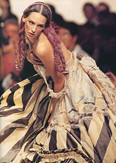 John Galliano 1994. Model / Debbie Deitering