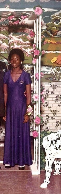 At my senior prom in 1973