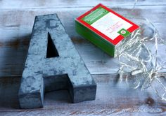 DIY Projects with Letters | The Budget Decorator