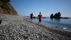 Beachrunning #trailrunning #Beach #Griechenland  Beach, Tours, Greece, Landscape, The Beach, Beaches