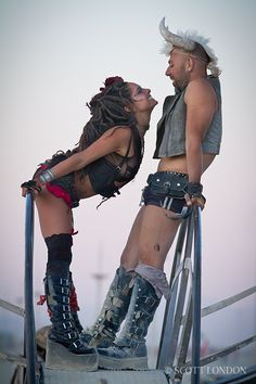 Burning Man 2011. These two were my ride home!!!