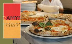 2 Amys on Macomb Street in Washington makes a great Neopolitan-style pizza. Located near Washington National Cathedral.