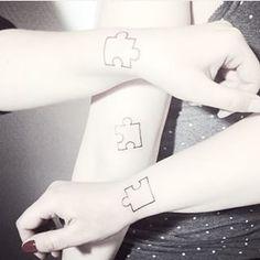 Tattoo simple wrist henna new ideas Siblings Tattoo For 3, Sibling Tattoos, Sister Tattoos, Friend Tattoos, Feather Tattoos, Rose Tattoos, Leg Tattoos, Small Tattoos, Sleeve Tattoos