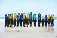 Leicester Tigers players go surfing in Jersey (4)