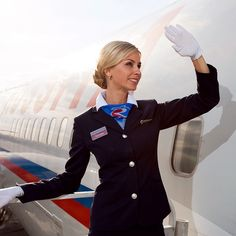 Rossiya Airlines Stewardess